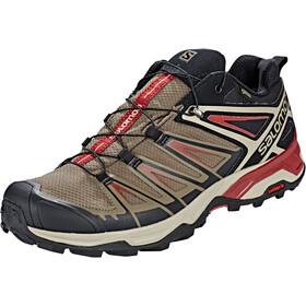 Salomon X Ultra 3 GTX kengät Miehet, bungee cord/vintage kaki/red dahlia